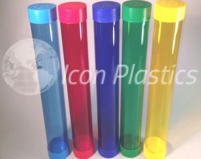 Custom Colored Plastic Packaging Tubes