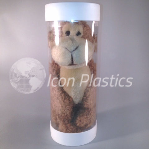 Clear Packaging Tubes - Plush
